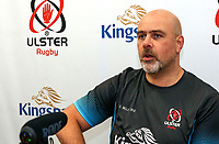 Tuesday 12th November 2019 | Ulster Rugby Match Briefing<br /> <br /> Ulster Rugby Head Coach Dan McFarland at the Match Briefing held at Kingspan Stadium, Belfast ahead of the Heineken Champions Cup Round 1 clash against Bath at the Recreation Ground Bath on Saturday 16th November 2019.  Photo by John Dickson / DICKSONDIGITAL