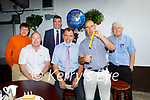 Dick Boyle of the Grand Hotel celebrating his 60th birthday on Thursday in the Grand Hotel. L to r: Alan Boyle, Aidan Lucid, Gary O'Driscoll, Dick Boyle, Malachy Nagle and Johnny Walsh.
