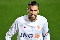 Kevin Strootman of Netherlands warms up prior to the Uefa Nation A League Group 1 football match between Italy and Netherlands at Atleti azzurri d Italia Stadium in Bergamo (Italy), October, 14, 2020. Photo Andrea Staccioli / Insidefoto