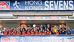 Spanish Team won the Plate during Hong Kong Women's Tournament at the Cathay Pacific / HSBC Hong Kong Sevens 2012 at the Hong Kong Football Club in Hong Kong, China on 23rd March 2012. Photo © Felix Ordonez / PSI for HKRFU