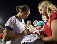 Carli Lloyd, fans.  The USWNT defeated Brazil, 4-1, at an international friendly at the Florida Citrus Bowl in Orlando, FL.