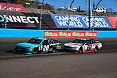 NASCAR XFINITY Series<br /> Ticket Galaxy 200<br /> Phoenix Raceway, Avondale, AZ USA<br /> Saturday 11 November 2017<br /> Erik Jones, Hisense Toyota Camry, Ryan Blaney, Discount Tire Ford Mustang<br /> World Copyright: Logan Whitton<br /> LAT Images