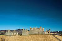 Ruthven Barracks near Kingussie, Cairngorm National Park, Badenoch and Speyside