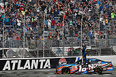 2017 NASCAR XFINITY Series - Rinnai 250<br /> Atlanta Motor Speedway, Hampton, GA USA<br /> Saturday 4 March 2017<br /> Kyle Busch, NOS Energy Drink Toyota Camry<br /> World Copyright: Rusty Jarrett/LAT Images<br /> ref: Digital Image 17ATL1rj_1893