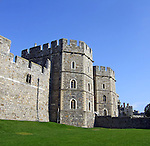 King Henry VIII Gate at Windsor Castle in the English county of Berkshire.