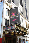 """Theatre Marquee for Ephraim Sykes, Jeremy Pope, Derrick Baskin, Jawan M. Jackson, and James Harkness  starring in """"Ain't Too Proud: The Life And Times Of The Temptations"""" after their first Broadway preview performance at The Imperial Theatre on February 28, 2019 in New York City."""