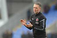 Fleetwood Town First Team Coach Clint Hill during the pre-match warm-up <br /> <br /> Photographer Kevin Barnes/CameraSport<br /> <br /> The EFL Sky Bet League One - Shrewsbury Town v Fleetwood Town - Tuesday 1st January 2019 - New Meadow - Shrewsbury<br /> <br /> World Copyright © 2019 CameraSport. All rights reserved. 43 Linden Ave. Countesthorpe. Leicester. England. LE8 5PG - Tel: +44 (0) 116 277 4147 - admin@camerasport.com - www.camerasport.com