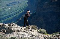 Spanien, Kanarische Inseln, Gran Canaria, Blick vom Pico (Pozo) de las Nieves