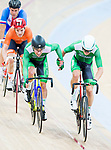 Felix English and Mark Downey of Ireland compete in the Men's Madison 50 km Final during the 2017 UCI Track Cycling World Championships on 16 April 2017, in Hong Kong Velodrome, Hong Kong, China. Photo by Marcio Rodrigo Machado / Power Sport Images