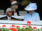 28 August 10: The scene from the track at the Travers Stakes at Saratoga Race Course in  Saratoga Springs, New York.