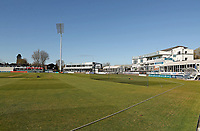 General view of the ground prior to Essex CCC vs Durham CCC, LV Insurance County Championship Group 1 Cricket at The Cloudfm County Ground on 15th April 2021