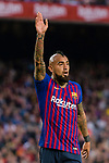 Arturo Vidal of FC Barcelona reacts during the La Liga 2018-19 match between FC Barcelona and Real Betis at Camp Nou, on November 11 2018 in Barcelona, Spain. Photo by Vicens Gimenez / Power Sport Images