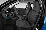 Front seat view of 2020 Smart EQ-forfour Comfort-Plus 5 Door Hatchback Front Seat  car photos