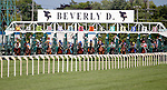 ARLINGTON HEIGHTS, IL - AUGUST 13: The field exits the starting gate at the start of the Beverly D. Stakes at Arlington International Racecourse on August 13, 2016 in Arlington Heights, Illinois. (Photo by Jon Durr/Eclipse Sportswire/Getty Images)