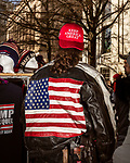 January 20, 2020. Richmond, Virginia.<br /> <br /> Thousands of people descended on Richmond  to show support for the rights of gun owners as  newly elected Democrats pushed for stronger gun control measures.