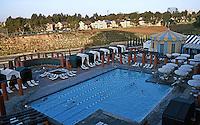 Michael Graves: Hyatt Hotel Pool, Aventine Complex, San Diego.  Photo '04.