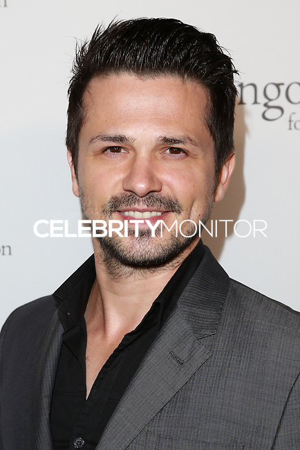 HOLLYWOOD, LOS ANGELES, CA, USA - OCTOBER 09: Freddy Rodriguez arrives at the Eva Longoria Foundation Dinner held at Beso Restaurant on October 9, 2014 in Hollywood, Los Angeles, California, United States. (Photo by David Acosta/Celebrity Monitor)