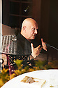 Steven Berkoff,playwright ,Theatre director and  Film actor at The Woodstock Literary Festival 2010 .CREDIT Geraint Lewis