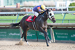 November 27, 2020: Lock Up, trained by D. Wayne Lukas wins Race 4, a maiden special weight, at Churchill Downs in Louisville, Kentucky on November 27, 2020. Jessica Morgan/Eclipse Sportswire