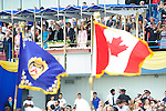 Leautenant Governor, David Onley,  at the 155th Queen's Plate at Woodbine Race Course in Toronto, Canada on July 06, 2014.