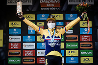 Primoz Roglic (SVK/Jumbo-Visma) wins stage 2 summiting up the Col de Porte & crowns himself the new GC leader<br /> <br /> Stage 2: Vienne to Col de Porte (135km)<br /> 72st Critérium du Dauphiné 2020 (2.UWT)<br /> <br /> ©kramon