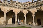 Patio de Escuelas Menores, University of Salamanca, Castile and Leon, Spain