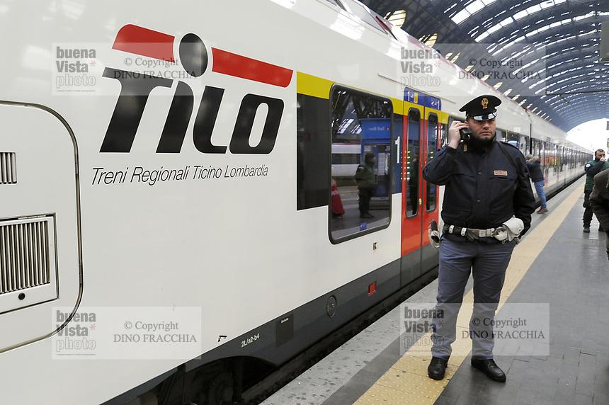 - Milano Stazione Centrale, treno TiLo  (Treni Regionali Ticino Lombardia)<br /> <br /> - Milan Central Station, TiLo train (Regional Trains Ticino Lombardy)