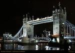 Tower Bridge, Bascule and Suspension Bridge, f/8, River Thames, London, England, UK