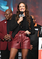LAS VEGAS - NOVEMBER 22:  Heidi Androl attends the weigh in for the November 23 fight on the Fox Sports PBC Pay-Per-View Fight Night on November 22, 2019 in. Las Vegas, Nevada. (Photo by Scott Kirkland/Fox Sports/PictureGroup)