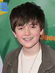 Greyson Chance attends The 24th Annual Kids' Choice Awards held at USC's Galen Center in Los Angeles, California on April 02,2011                                                                               © 2010 DVS / Hollywood Press Agency