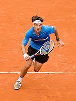 26-5-08, France,Paris, Tennis, Roland Garros, Tommy Robredo