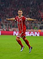 18.10.2017, Football UEFA Champions League 2017/2018,  , 3. match day, FC Bayern Muenchen - Celtic Glasgow, in Allianz-Arena Muenchen,  Joshua Kimmich (FC Bayern Muenchen). *** Local Caption *** © pixathlon<br /> <br /> +++ NED + SUI out !!! +++<br /> Contact: +49-40-22 63 02 60 , info@pixathlon.de