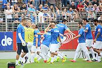 SV Darmstadt 98 macht sich warm - SV Darmstadt 98 vs. SV Sandhausen, Stadion am Boellenfalltor