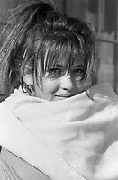 Montreal (Qc) CANADA -February 22,1989 File Photo -<br /> Sophie Marceau.<br /> <br /> <br /> <br /> <br /> photo (c) Pierre Roussel - Images Distribution