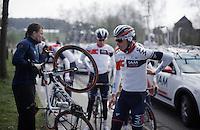 End of De Ronde van Vlaanderen 2016 recon with Team IAM