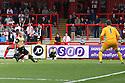 Oumare Tounkara of Stevenage shoots wide<br />  - Stevenage v Leyton Orient - Sky Bet League 1 - Lamex Stadium, Stevenage - 17th August, 2013<br />  © Kevin Coleman 2013