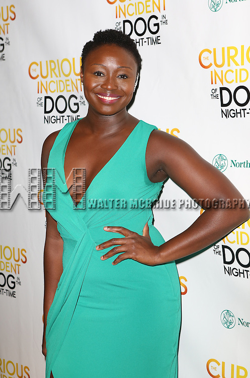 Jocelyn Bioh attends the Broadway Opening Night Performance After Party for 'The Curious Incident of the Dog in the Night-Time'  at Urbo on October 5, 2014 in New York City.