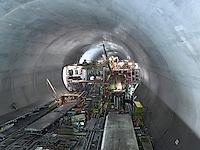 Switzerland,Schweiz; Ticino; Alptransit; NEAT; Gotthard Tunnel, Gottardo Tunnel Base, 57 km., Longest and deepest railway tunnel in the world, Ceneri Tunnel, Monte Ceneri