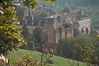 Europe/France/Limousin/19/Corrèze/Aubazine: Bâtiments monastiques de l'ancienne abbaye cistercienne