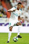 Real Madrid's Raphael Varane during La Liga match. October 1,2017. (ALTERPHOTOS/Acero)