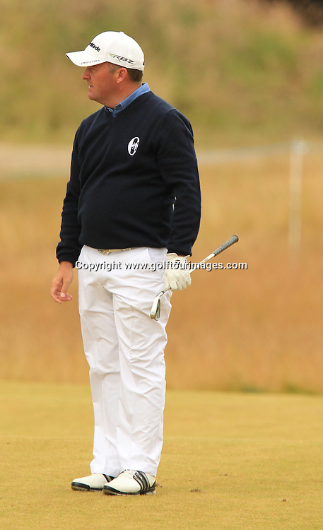 Damien McGrane during the second round of the 2012 Aberdeen Asset Management Scottish Open being played over the links at Castle Stuart, Inverness, Scotland from 12th to 14th July 2012:  Stuart Adams www.golftourimages.com:13th July 2012