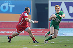 Connacht's Darragh Leader in action during todays match<br /> <br /> Rugby - Scarlets V Connacht - Guinness Pro12 - Sunday 15th Febuary 2015 - Parc-y-Scarlets - Llanelli<br /> <br /> © www.sportingwales.com- PLEASE CREDIT IAN COOK