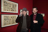 Jean MULATIER, Pierre LAMBERT - Vernissage de l'exposition Goscinny - La Cinematheque francaise 02 octobre 2017 - Paris - France