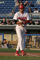 June 27, 2003:  (JD Foust) J.D. Foust of the Batavia Muckdogs during a game at Dwyer Stadium in Batavia, New York.  Photo by:  Mike Janes/Four Seam Images