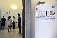 - Universal Exhibition in Milan, press conference for the presentation of the Conceptual Master Plan....- Esposizione universale a Milano, conferenza stampa per la resentazione del Conceptual Masterplan