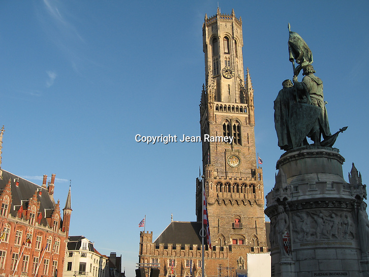 Brugge's Grote Markt/City Square