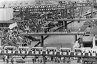 1967 FILE PHOTO - ARCHIVES -<br /> <br /> Monorail railroads<br /> <br /> PHOTO : Reg INNELL - Toronto Star Archives - AQP
