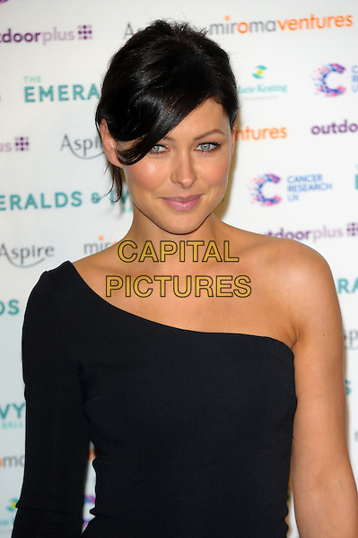 LONDON, UK, NOVEMBER 30: Emma Willis at the Emeralds And Ivy Ball, Old Billingsgate Market on November 30th, 2013 in London, England.<br /> CAP/CJ<br /> ©Chris Joseph/Capital Pictures