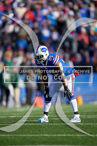 Buffalo Bills running back LeSean McCoy (25) during an NFL football game against the New York Jets, Sunday, December 9, 2018, in Orchard Park, N.Y.  (Mike Janes Photography)