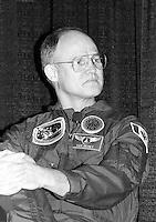 Montreal (qc) CANADA - file Photo - 1992 - <br /> Ken Money, astronaut